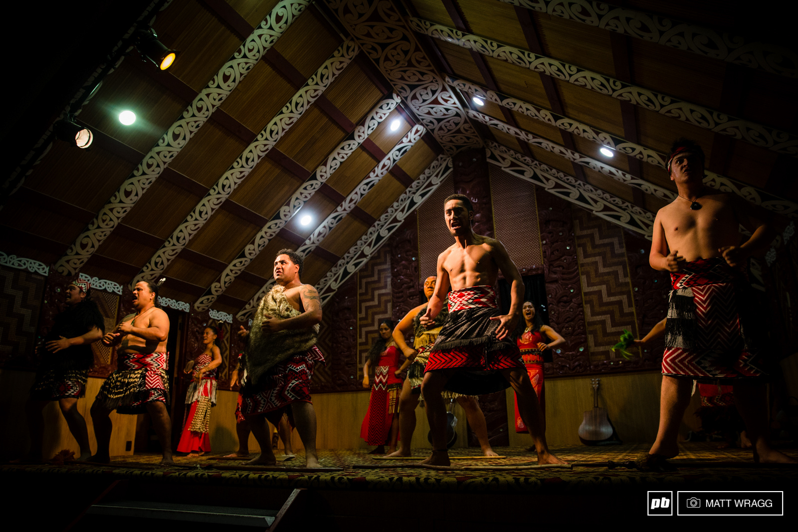 For the opening ceremony of Crankworx we were treated to a traditional Maori ceremony and Haka performance at the Te Paui centre on Tuesday night. If you ve never seen one of them live you should the energy aggression and beauty is unlike anything you will find anywhere else.