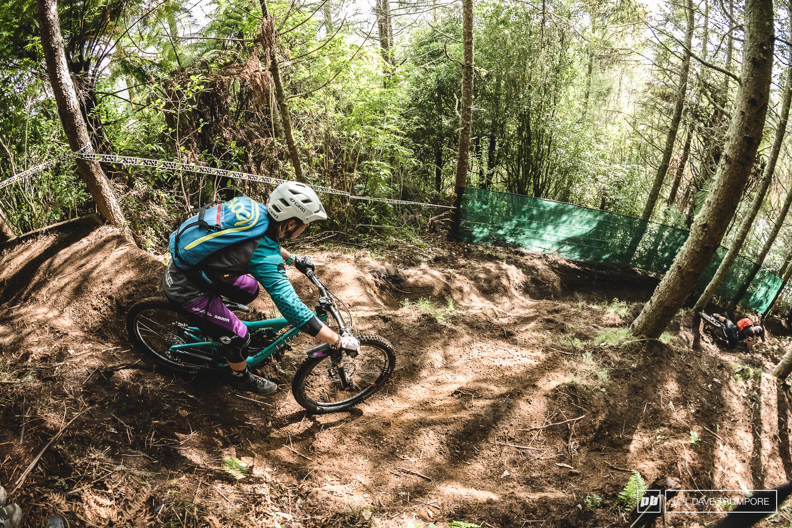 The last time Anka Martin rode this section of trail she was on a DH bike and racing the UCI World Champs in 2006