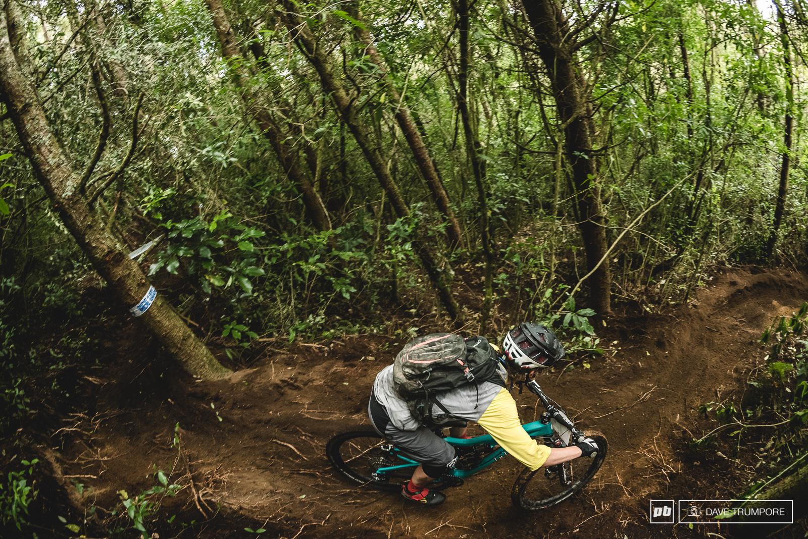 Rosara Joseph enjoys the fresh loamy dirt of her native New Zealand.