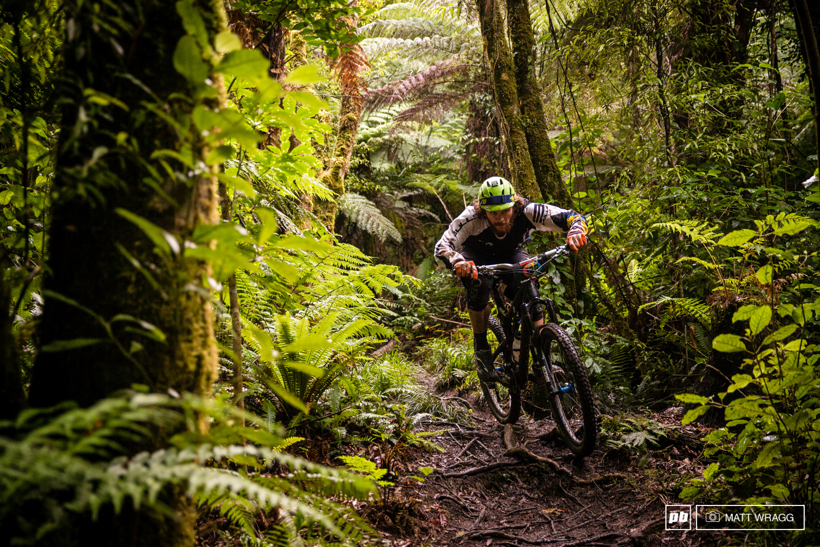 Local favourite Wyn Masters is one to watch this weekend. EWS 1 2015 Rotorua New Zealand. Photo by Matt Wragg.