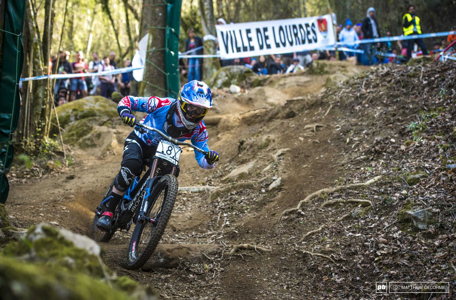 This track clearly suited Danny Hart s riding style. Danny rode to a solid fourth place. It s been a while since we ve seen Danny on the podium and it s good to see him back.