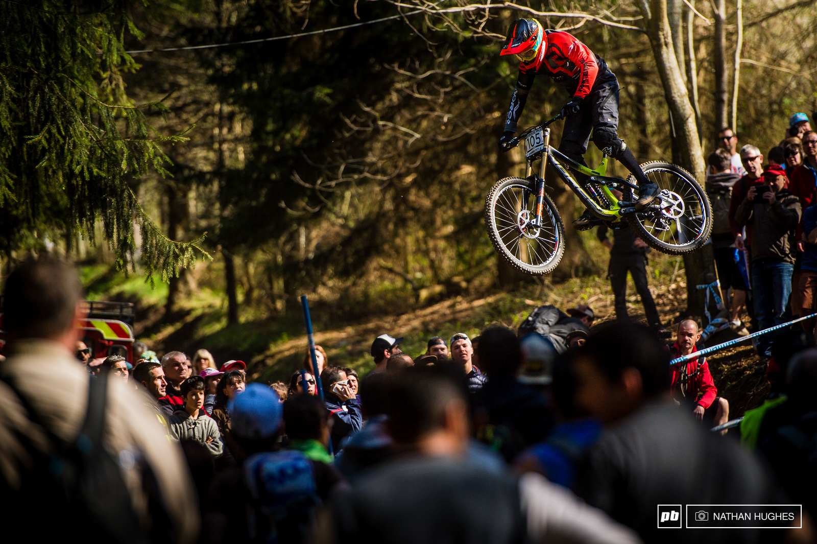Lourdes may have been a hit for the young-guns but Jack Iles first year in elite began with a snapped crank. This is a track that doesn t play fair.