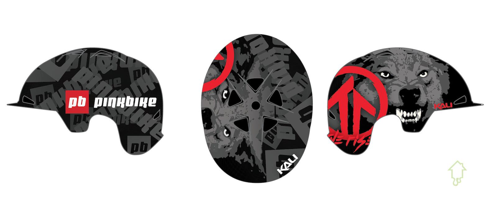 Matt MacDuff s custom Pinbike helmet by Painthouse Customs.