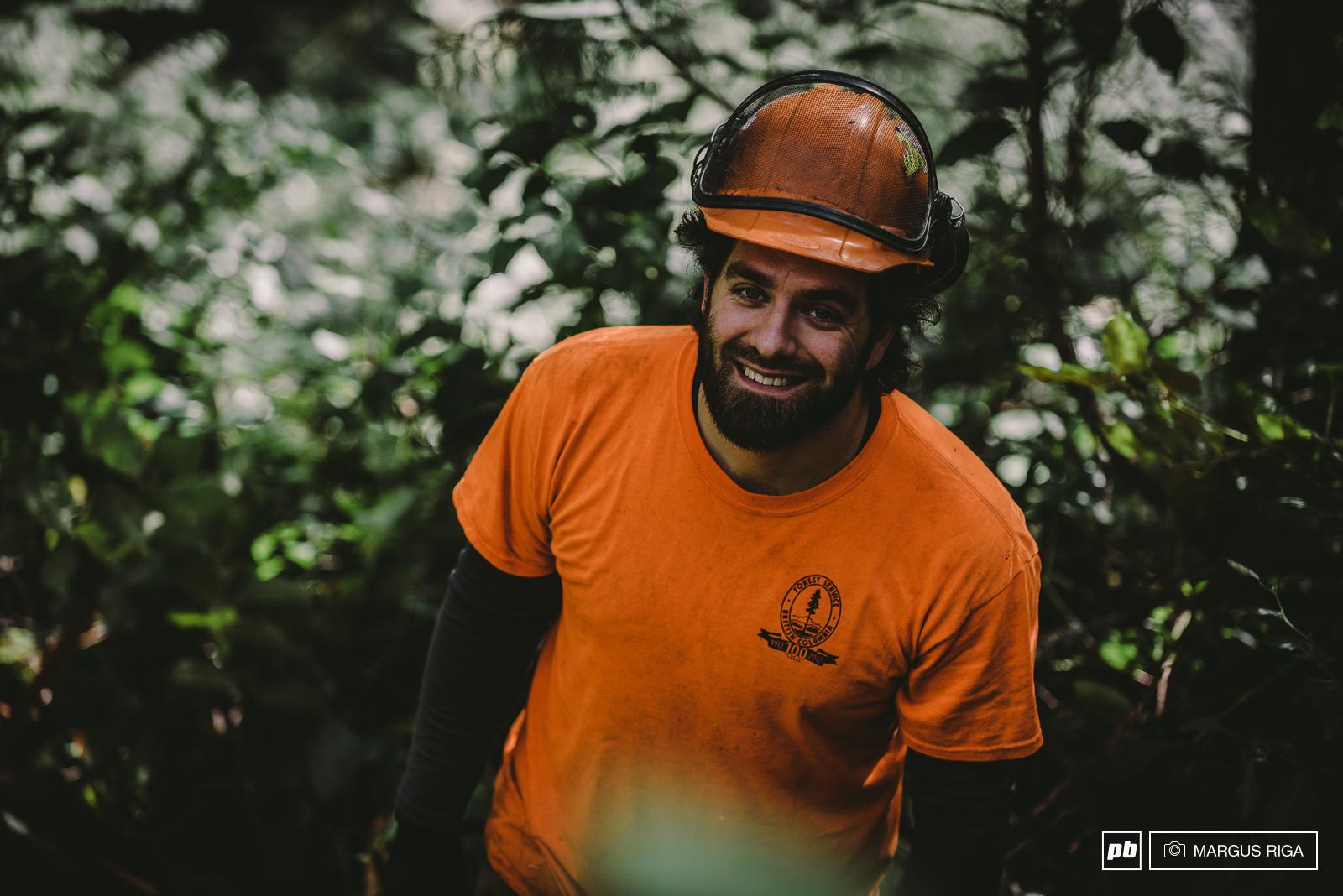 Geoff Gulevich filming for Builder.
