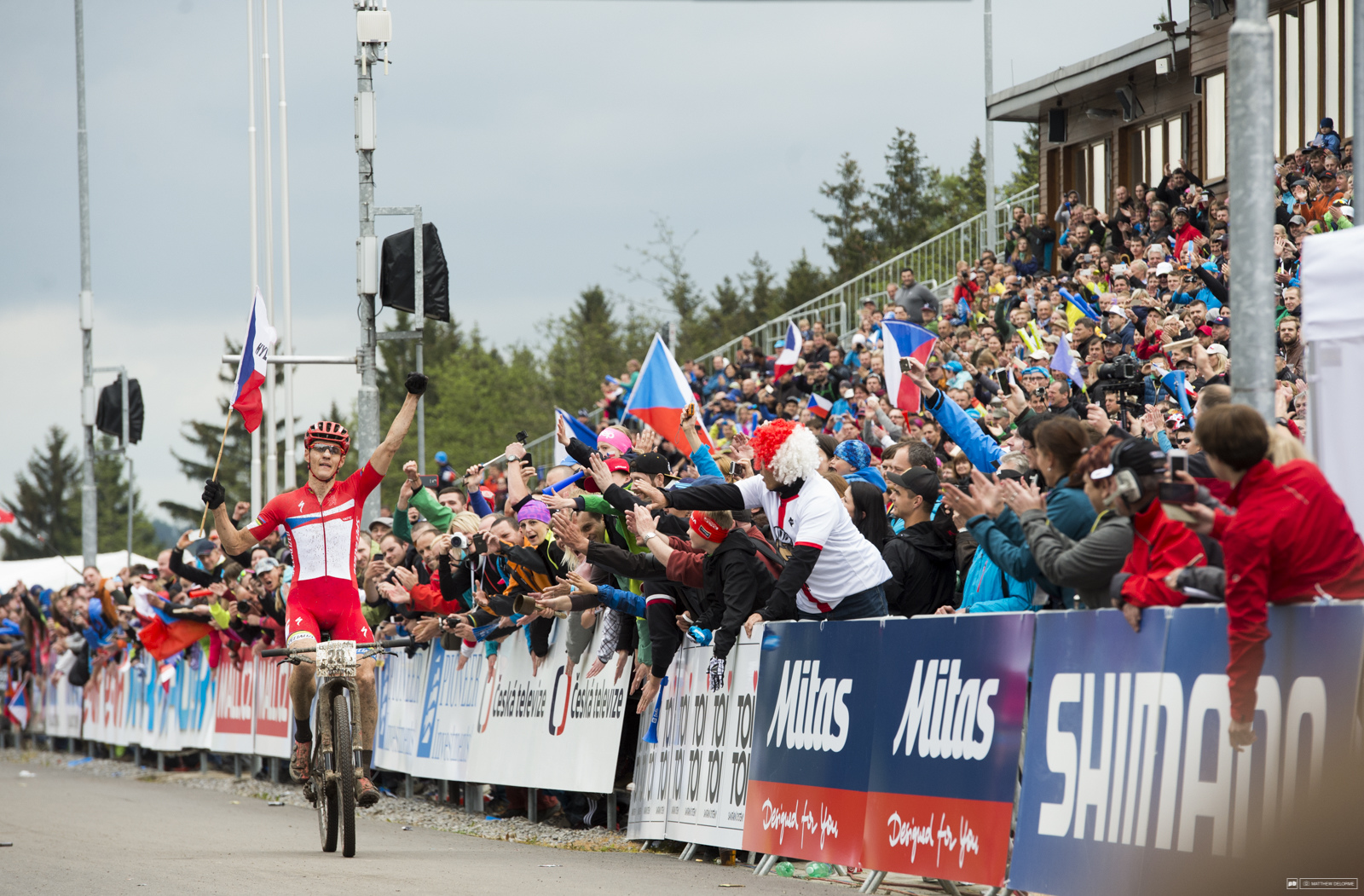 Kulhavy had the legs and the tactics to take the wind out of Schurter s sails. Nothing is sweeter than a win in front of the home crowd.