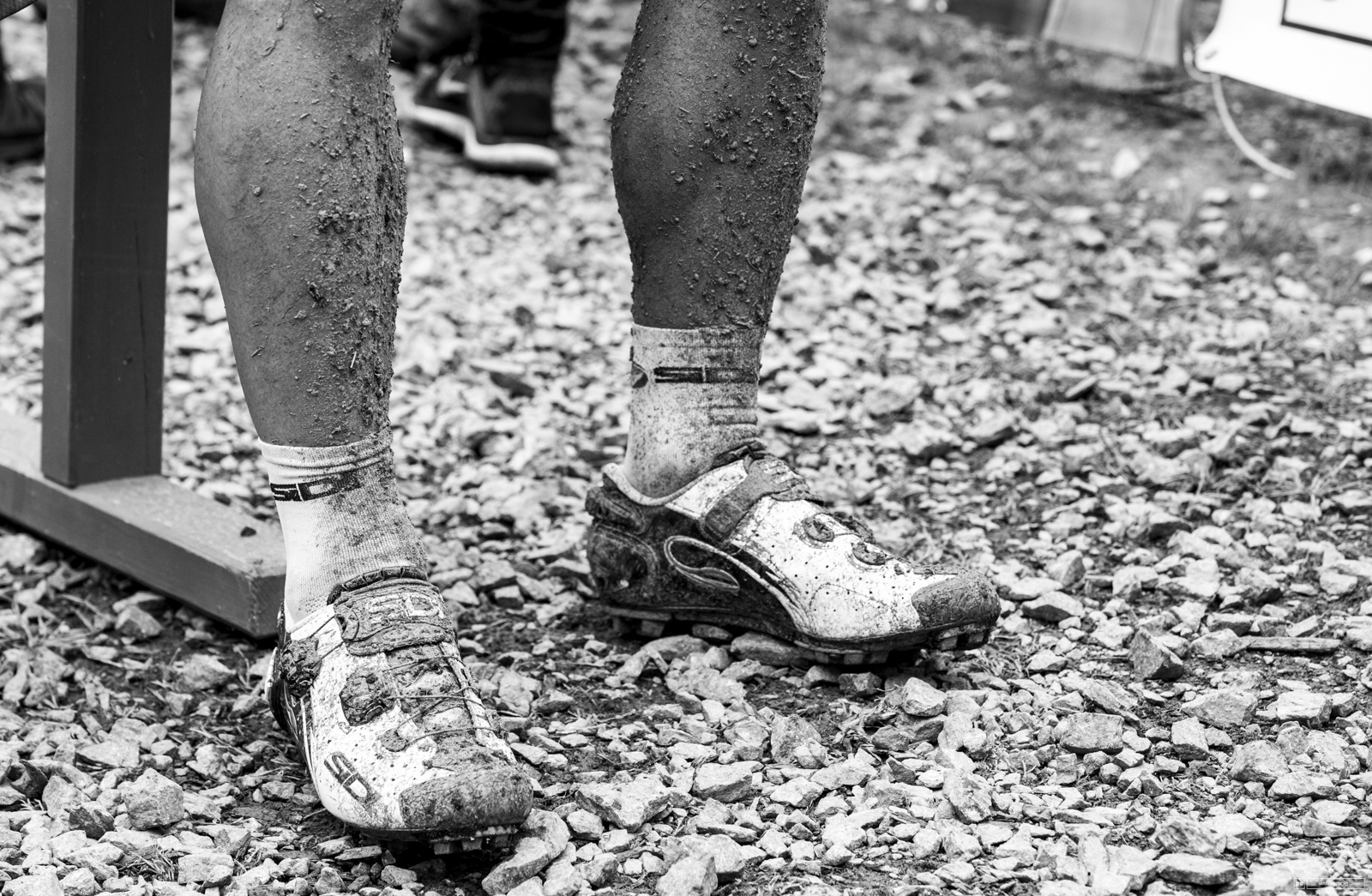 The loamy soil of Nove Mesto caked on the legs like concrete.