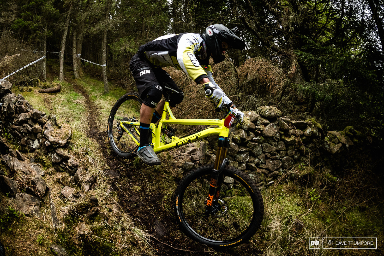 Knocked off the podium on the last stage of the day in Ireland Martin Maes has a score to settle here in Scotland