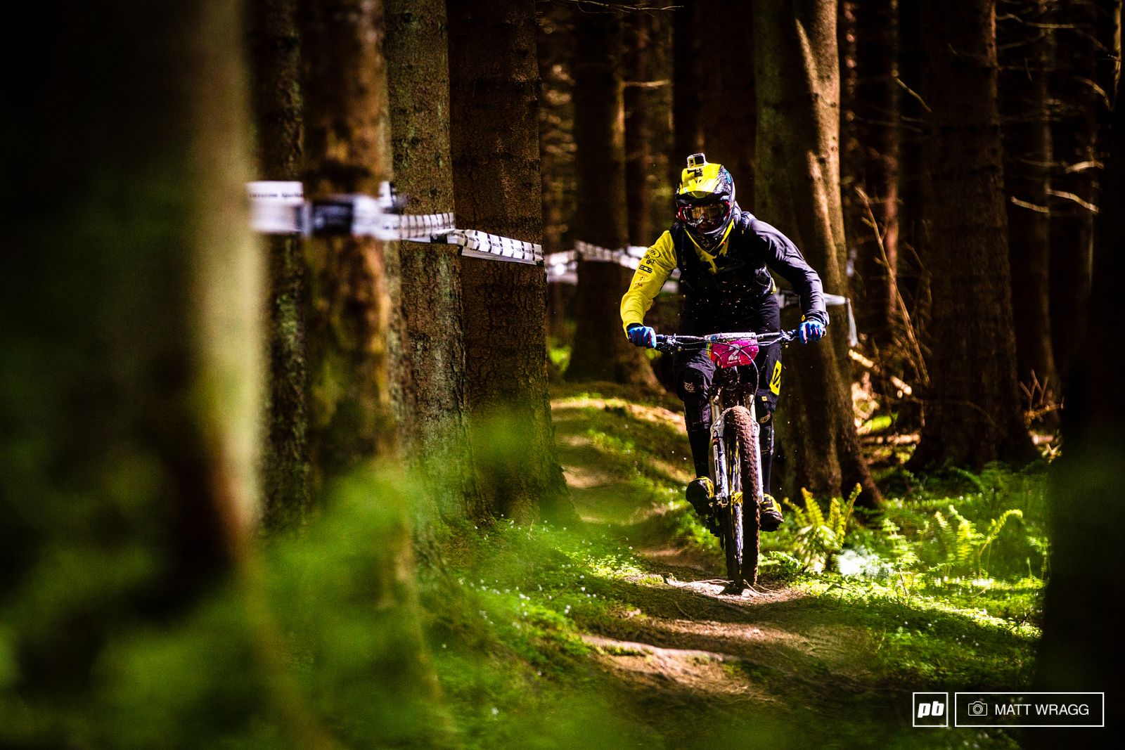 Anne-Caroline Chausson isn t a huge fan of the more physical stages here in Scotland and is waiting until the steeper big mountain races to come to make her push for the title.