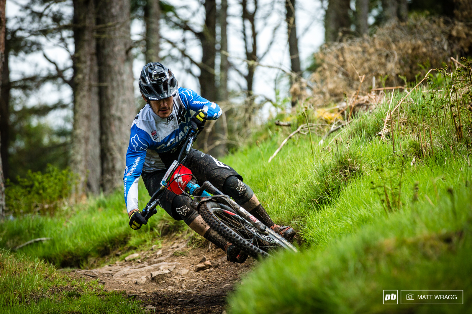 Yoann Barelli has been in Whistler all learning to ride in the rain - he has the chance to see if it paid off this weekened.