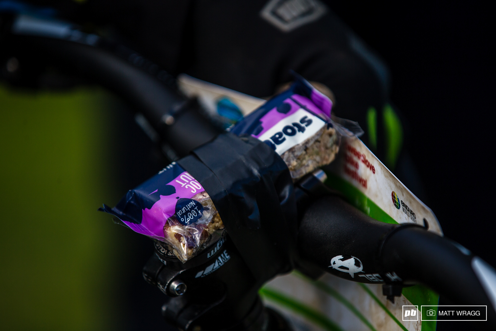 Eddie Masters has his race day nutrition dialled.