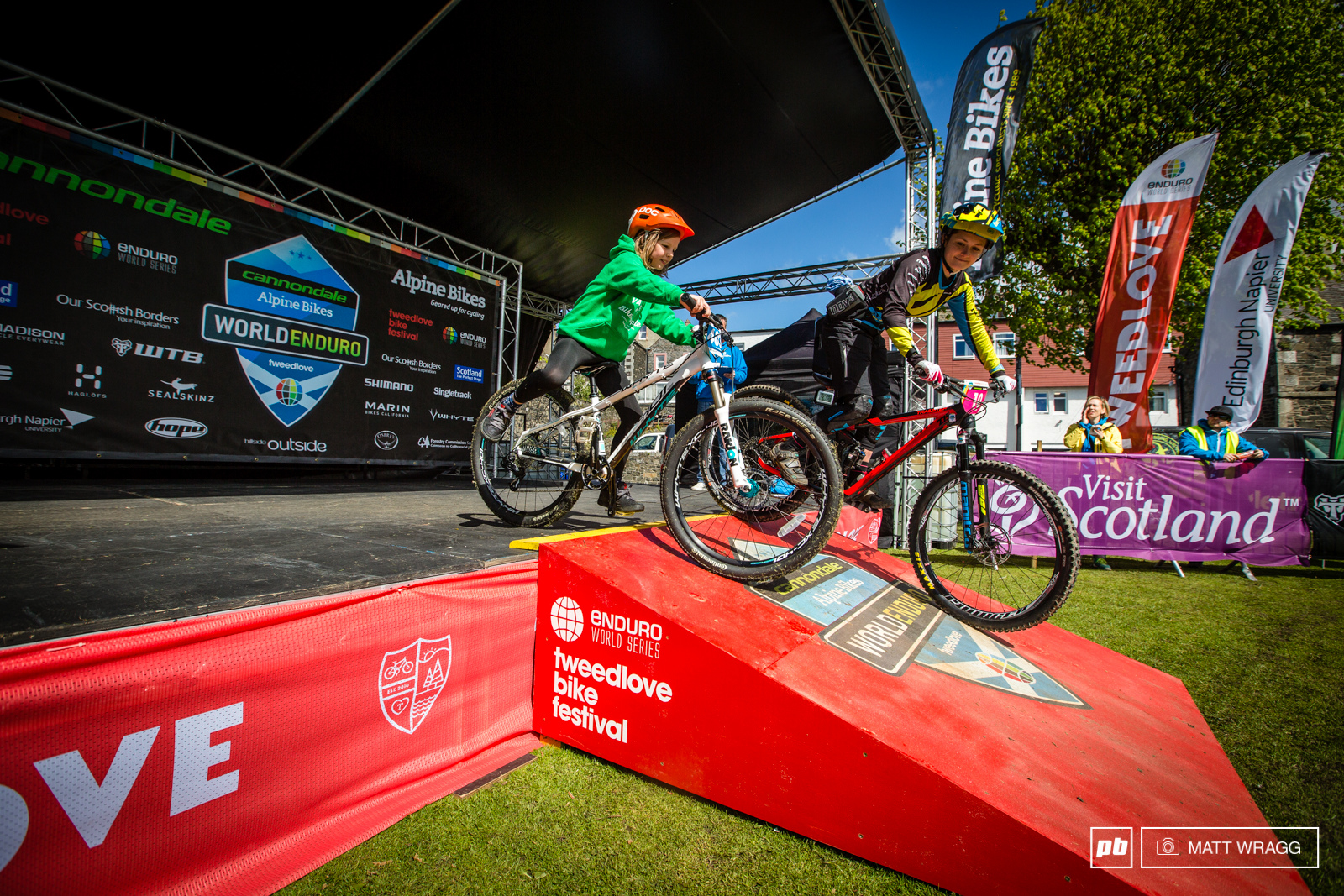 IMages from Round 3 of the EWS Scotland 2015