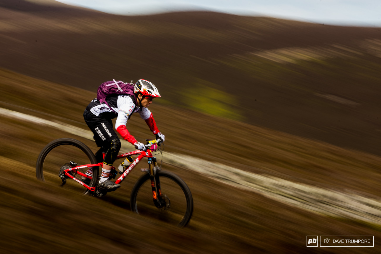 Total stage domination today for Tracey Moseley means she carries a 47 second lead into day two.