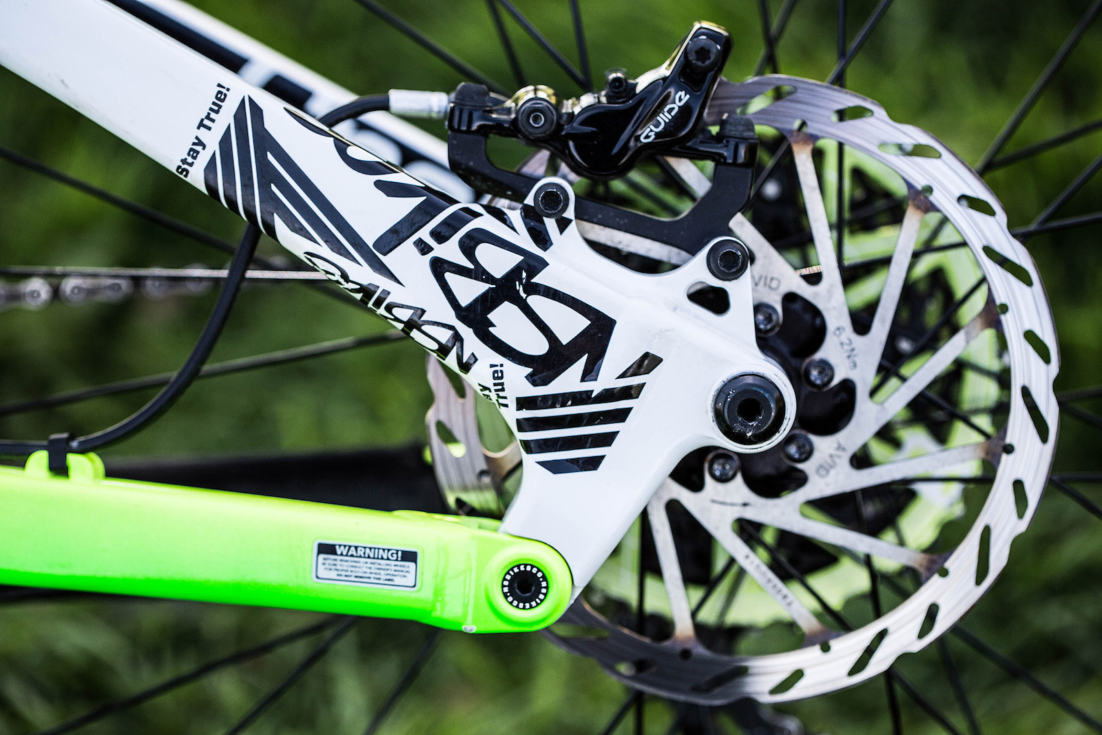 SRAM Guide Brakes and the Horst-style link