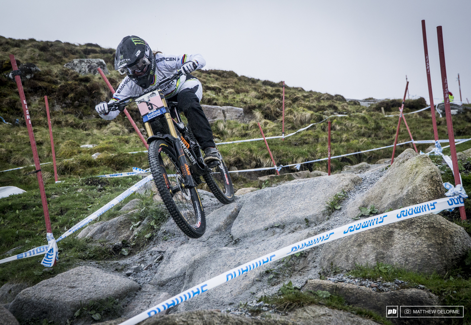 Manon Carpenter took fourth today at Fort Bill. Carpenter will be looking to climb higher in the rankings in Leogang.