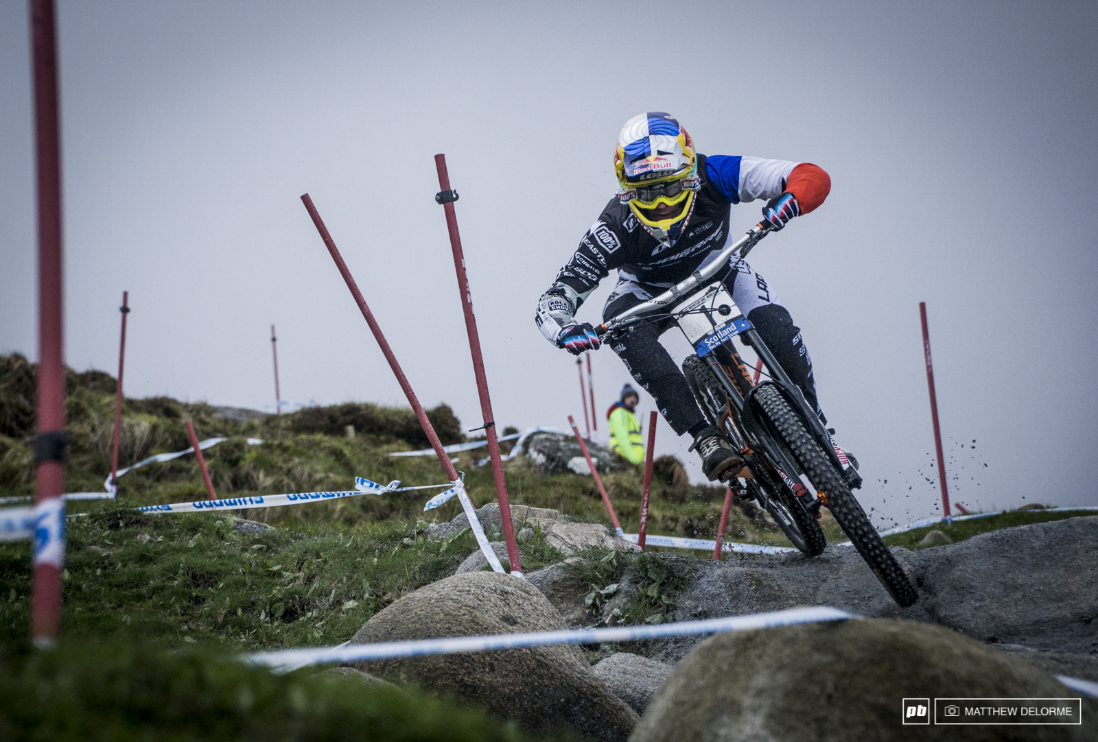 Loic Bruni had an off today that cost him what very well could have been a win here in Fort William. Bruni finished seventh.