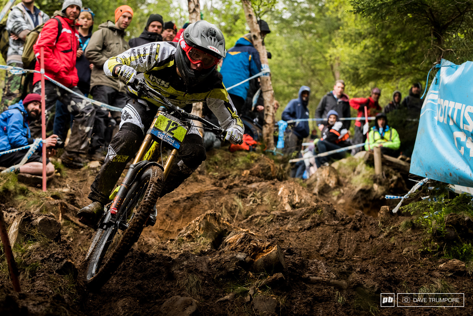 Martin Maes was unstoppable in the Junior race and pulled back huge time on the lower part of the track to win Fort William for the second straight year.