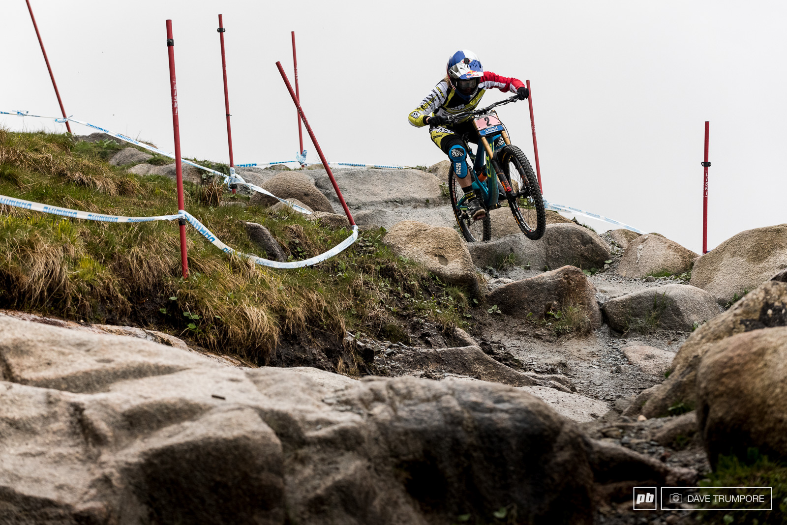 What else can we say about Rachel Atherton. Against more than a few odds she raised her game today and gave the crowd exactly what they came to see.