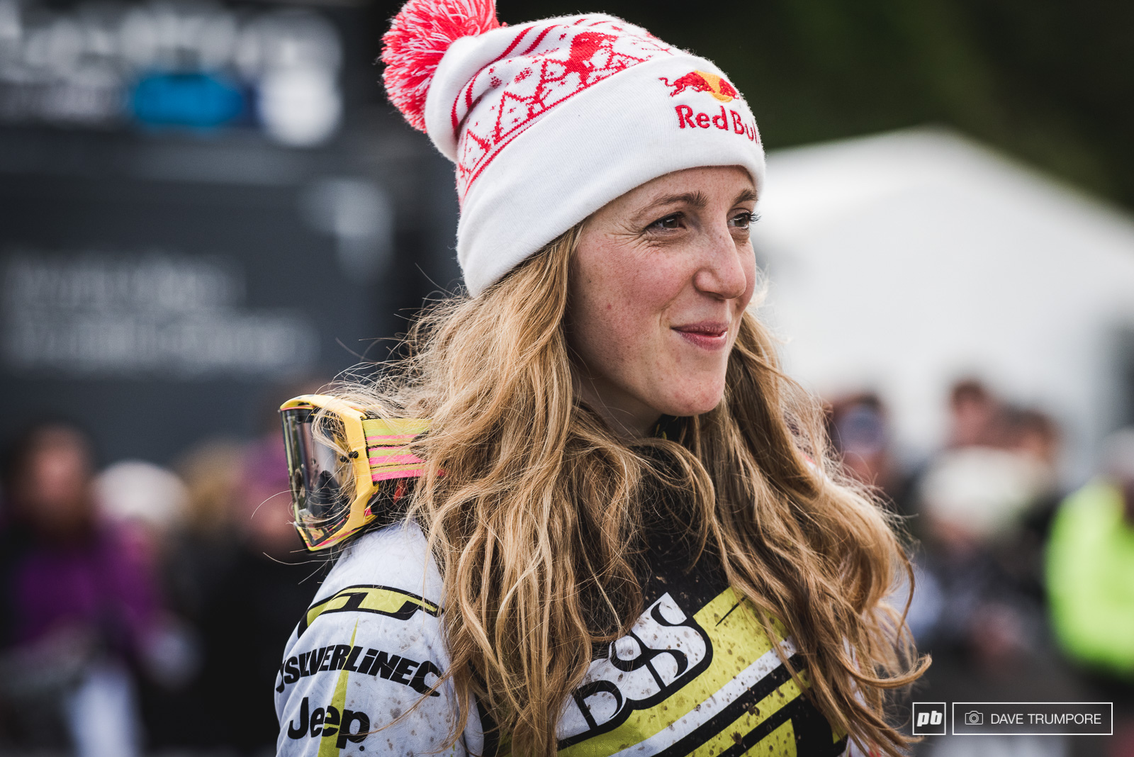 No one gets louder cheers in Fort William than Rachel Atherton.