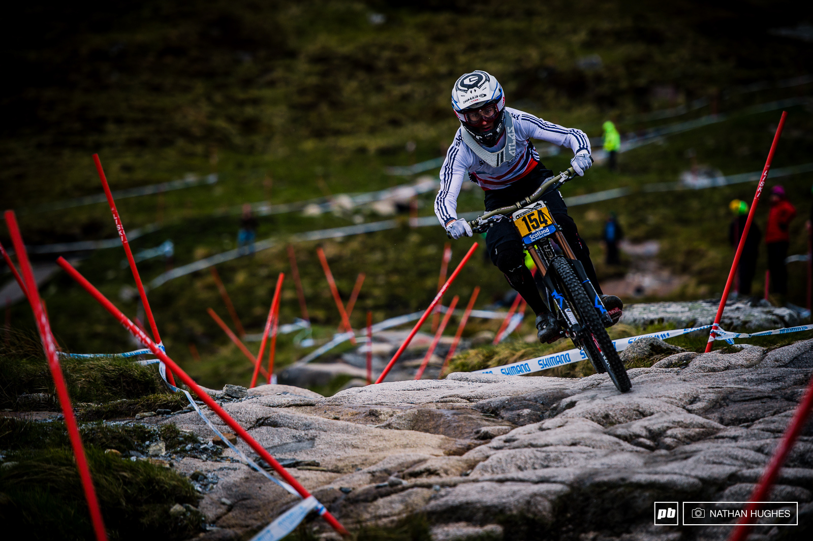 Mondraker s Innes Graham couldn t race at Lourdes because he didn t have any points... So he got a GB jersey for Fort William and nailed 17th.