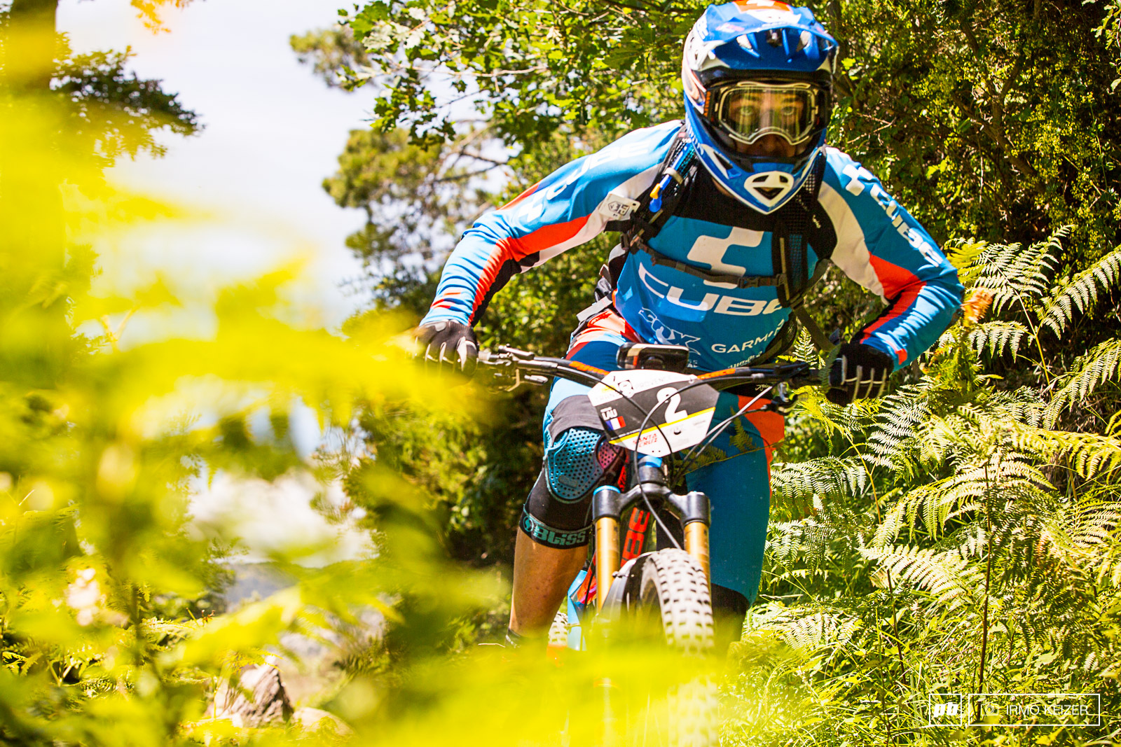 Nico Lau charges in the final day of the 2015 Trans-Provence.
