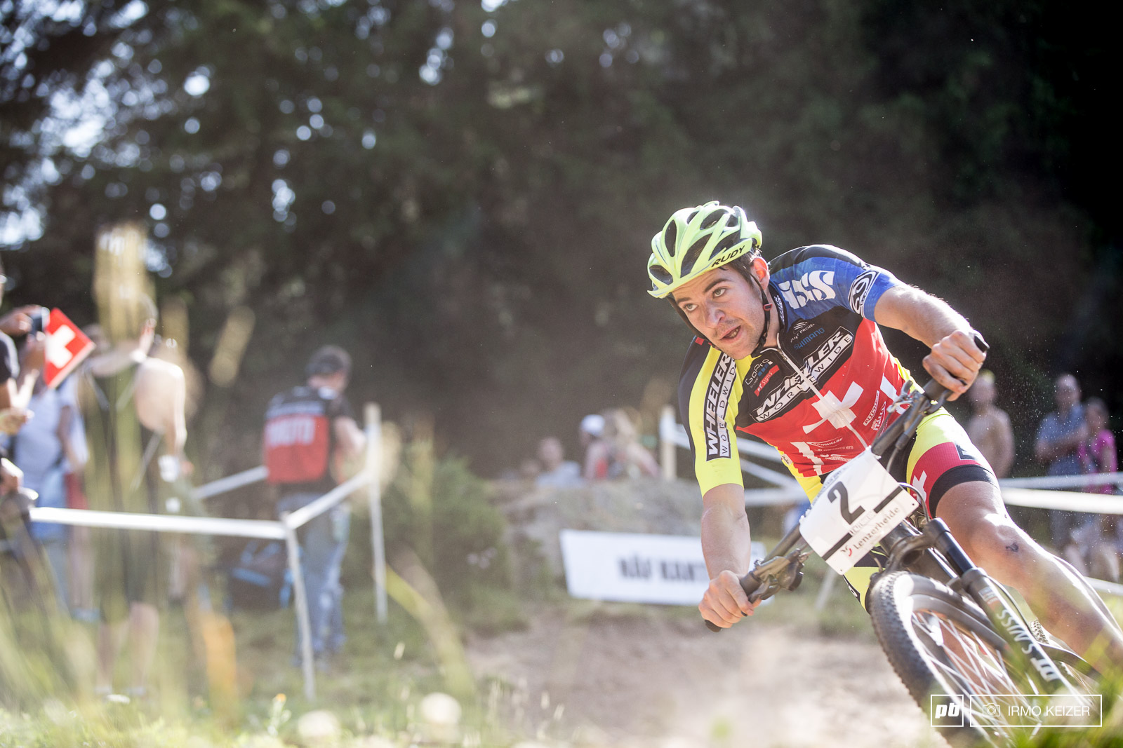 Lars Forster was on a mission wanting to secure a win in his home country.