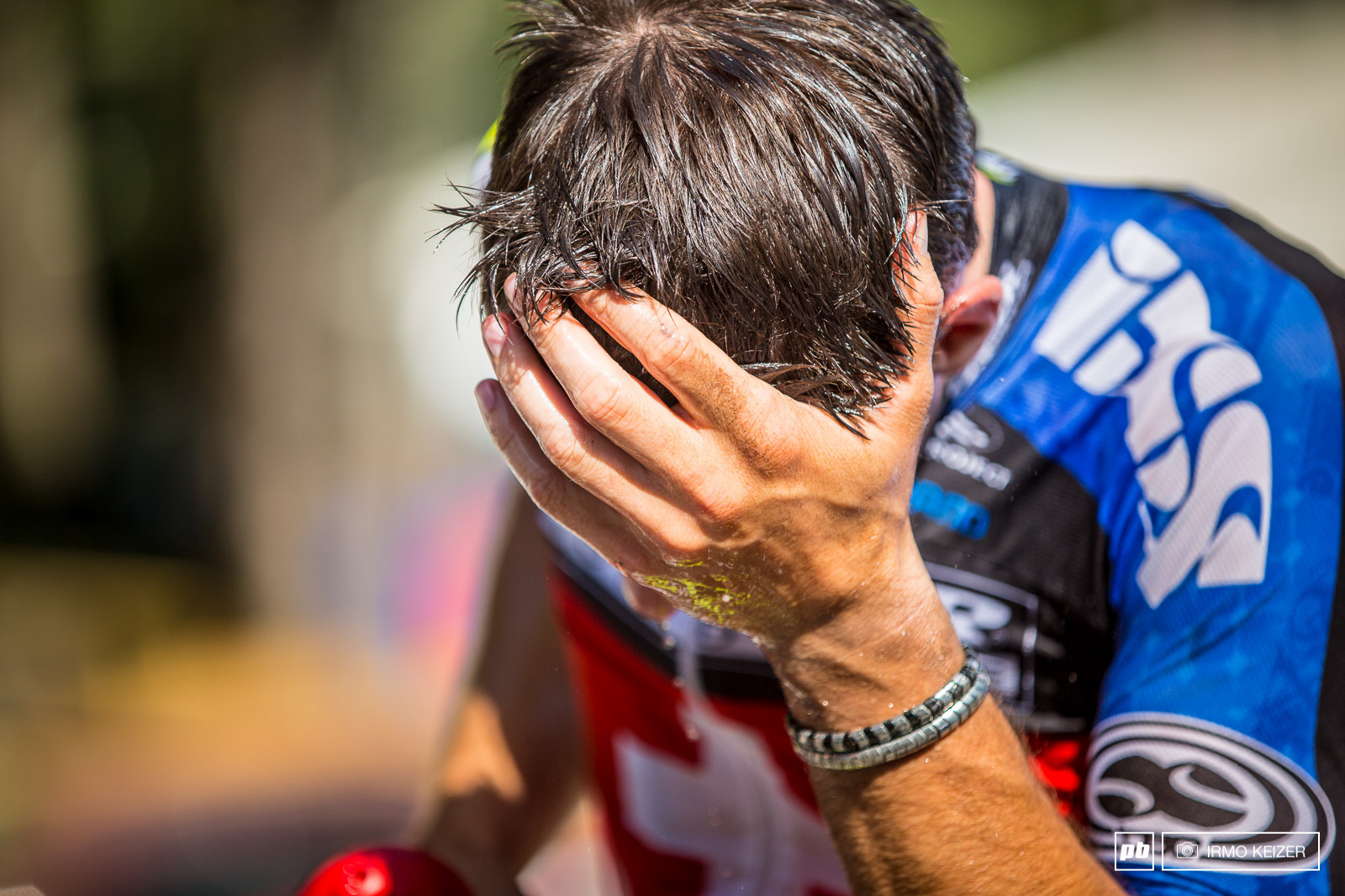 Tremendous heat and a course which was physically demanding resulted in exhausted riders.