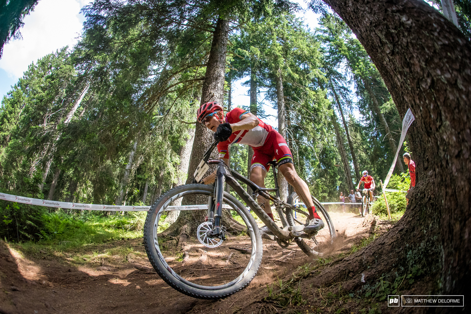 Jaroslav Kulhavy had the staying power to best Nino once again. The terrain was very similar to Nove Mesto so perhaps he felt right at home.