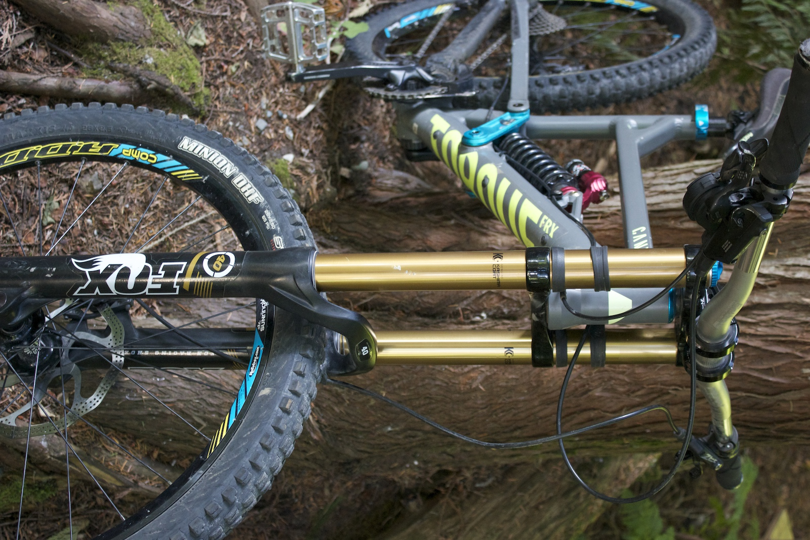 2013 Canyon Torque FRX Playzone M upgraded