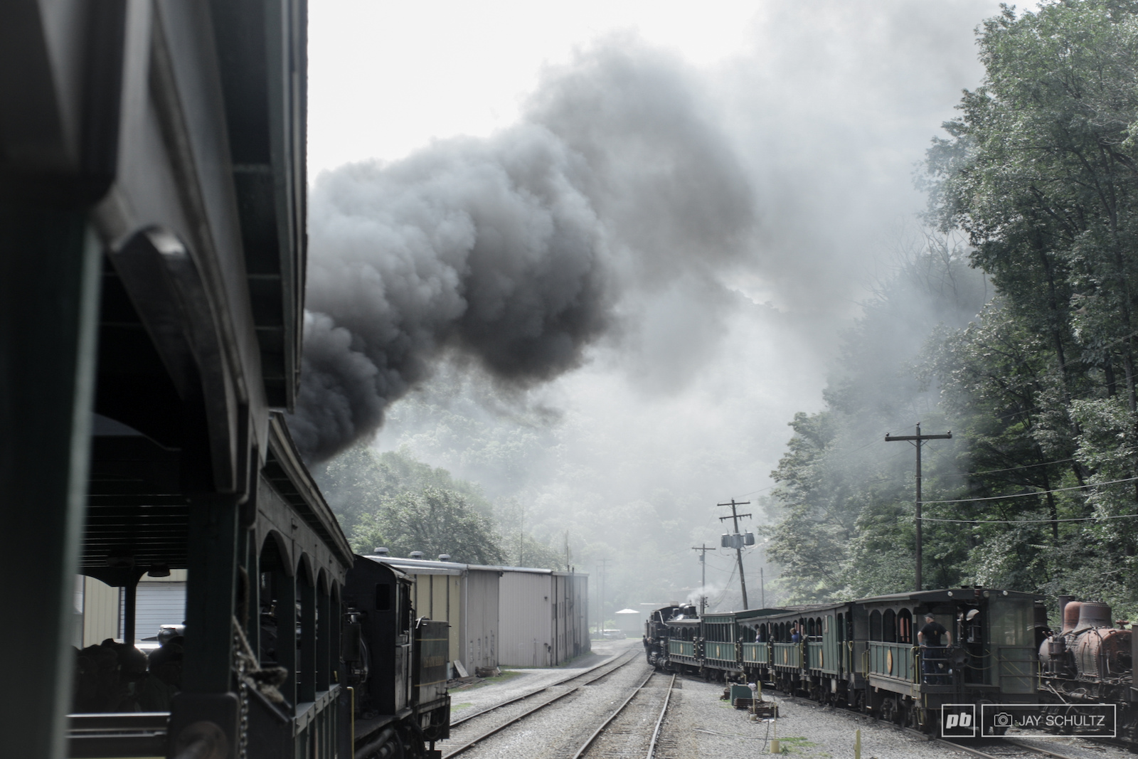 We Are All Kids at Heart - What kid doesn t dream of taking a ride on the real deal Shay 5 C-80 Shay Steam Locomotive has some history in these parts as it s been on Cheat Mountain since it was built and has been in service in Cass since 1905.