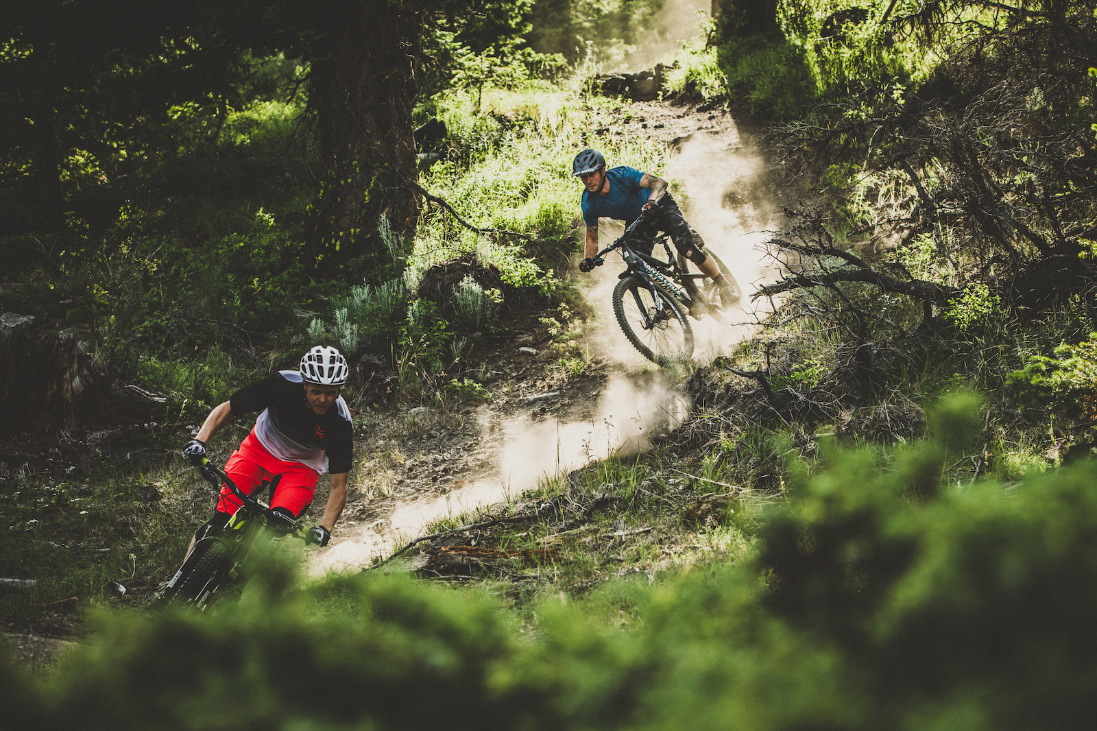 one of many della creek dogfighting pinkbike images for the della creek dog fight article from sram