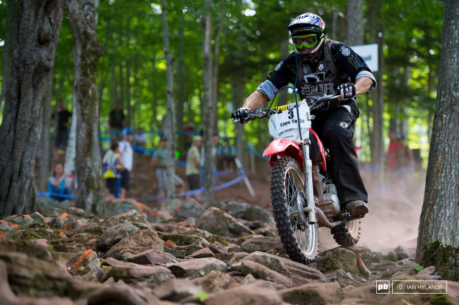 Huge shout out to Jay de Jesus he rode lead moto for all the XC races that s a lot of laps
