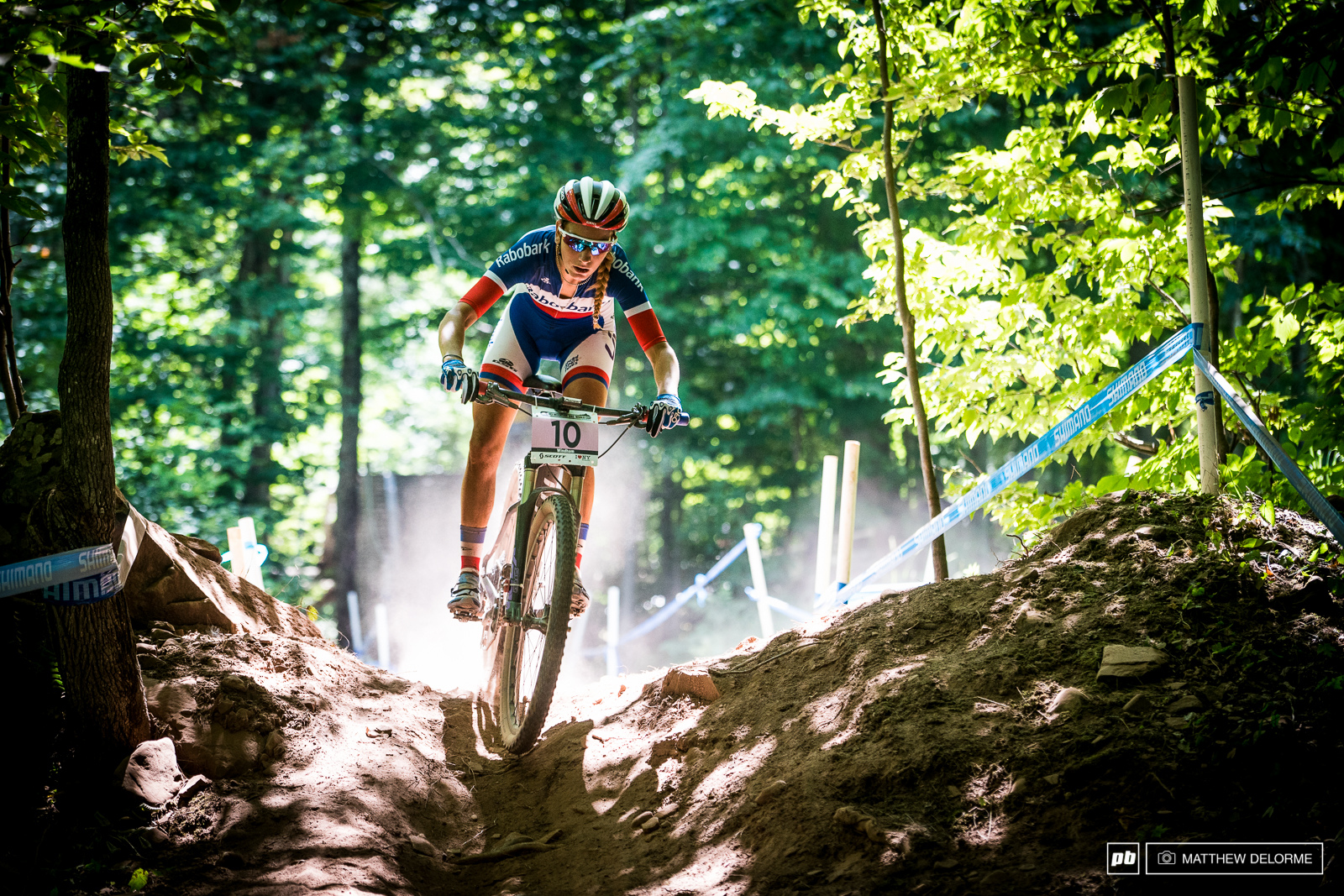 Pauline Ferrand Prevot owned this race. It was a well deserved win.