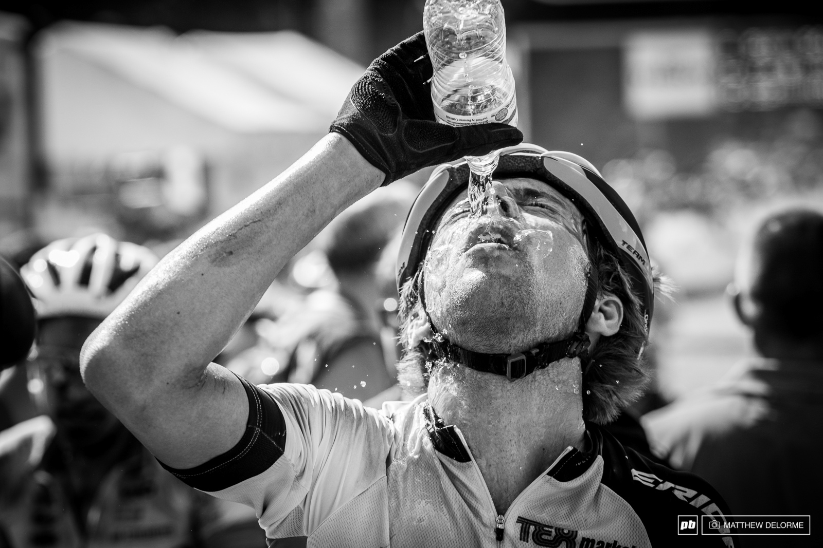While it wasn t as hot as Lenzerheide the combination of heat and constant moon dust proved brutal.