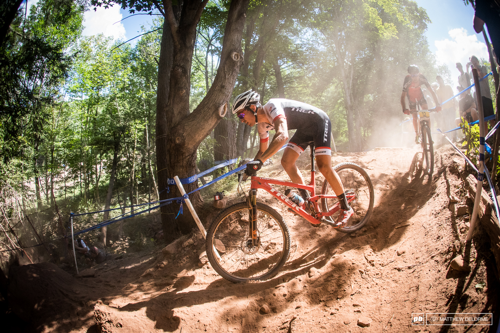 Sergio Mantecon rode to his first podium since Albstadt when he was on Wild Wolf. The Spaniard has been making steady gains all season and was elated with a fourth place finish.