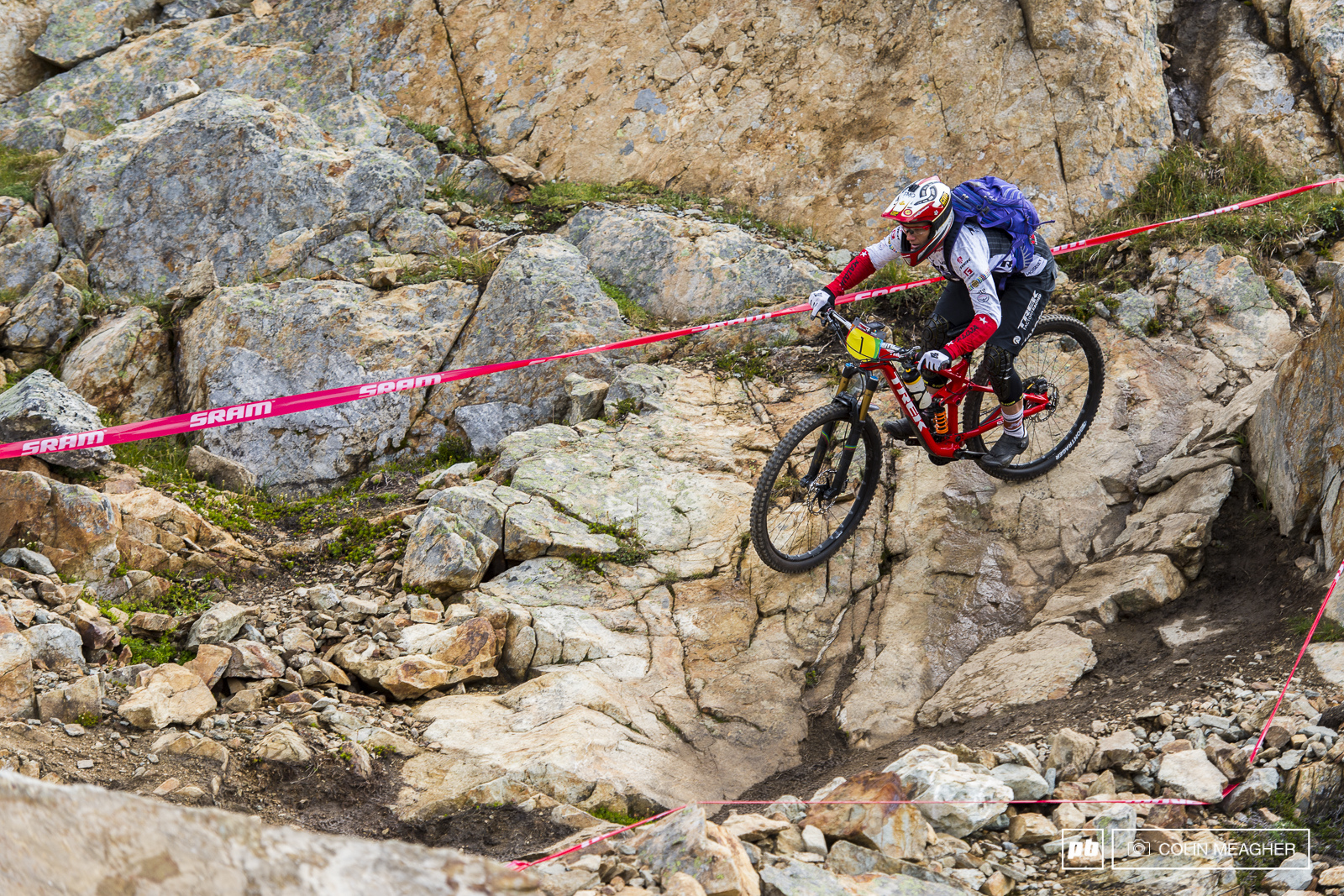 Tracey Moseley is back on top after that bout of altitude sickness took the wind out of her sails in Colorado last week but Ceclie Ravenol was not so far back as she has been in other races this year.