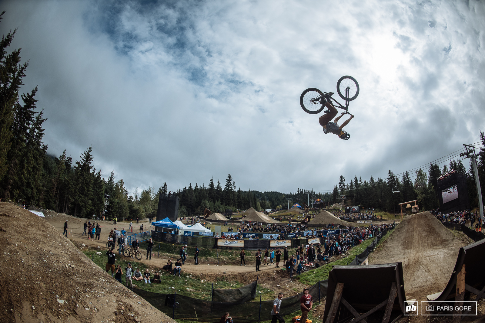 Anthony Messere getting dirt nasty.