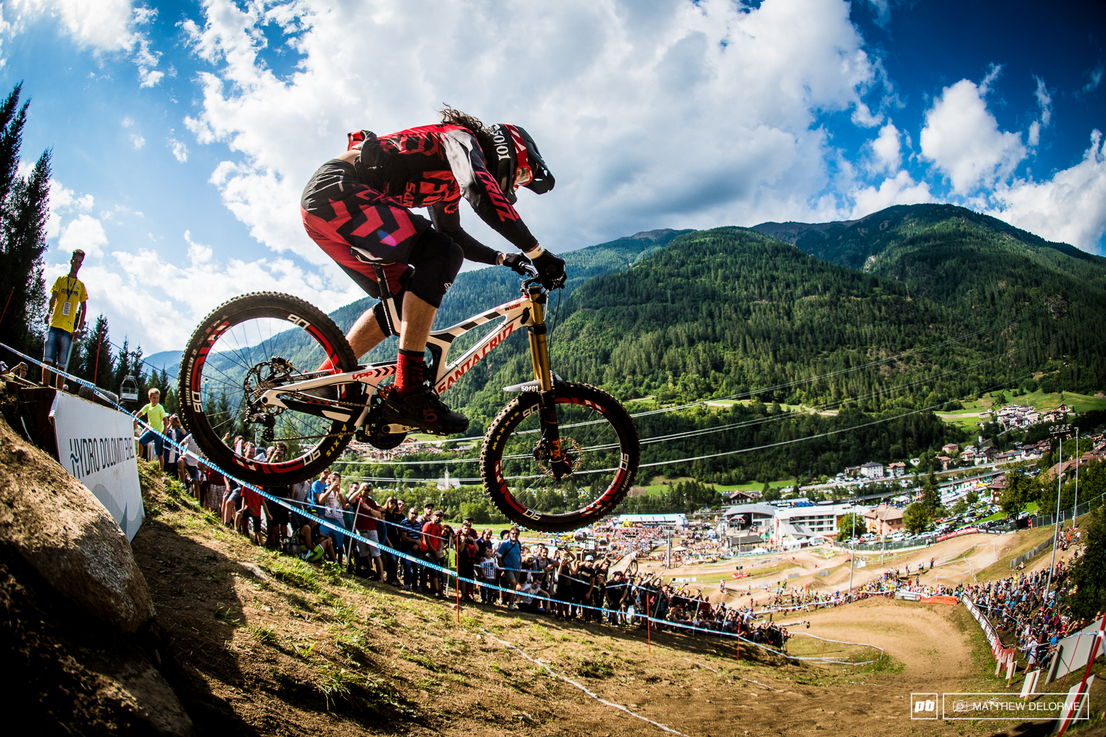 Ratty sending it off the drop and heading into the finish arena. Ratty finished fifth. The big question is how is he going to go at World s We can t wait to see.