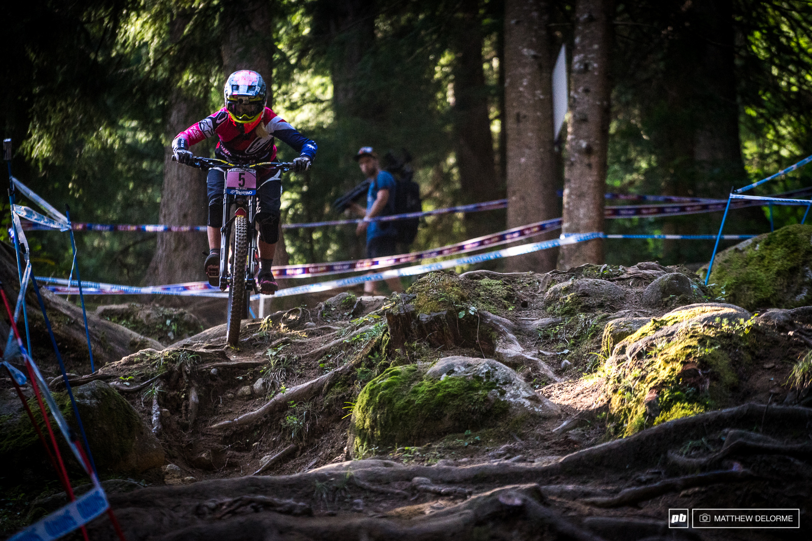Tracey Hannah rode to fifth place today. Hannah has had a stellar season considering the injury at Lourdes. She finished fourth overall.
