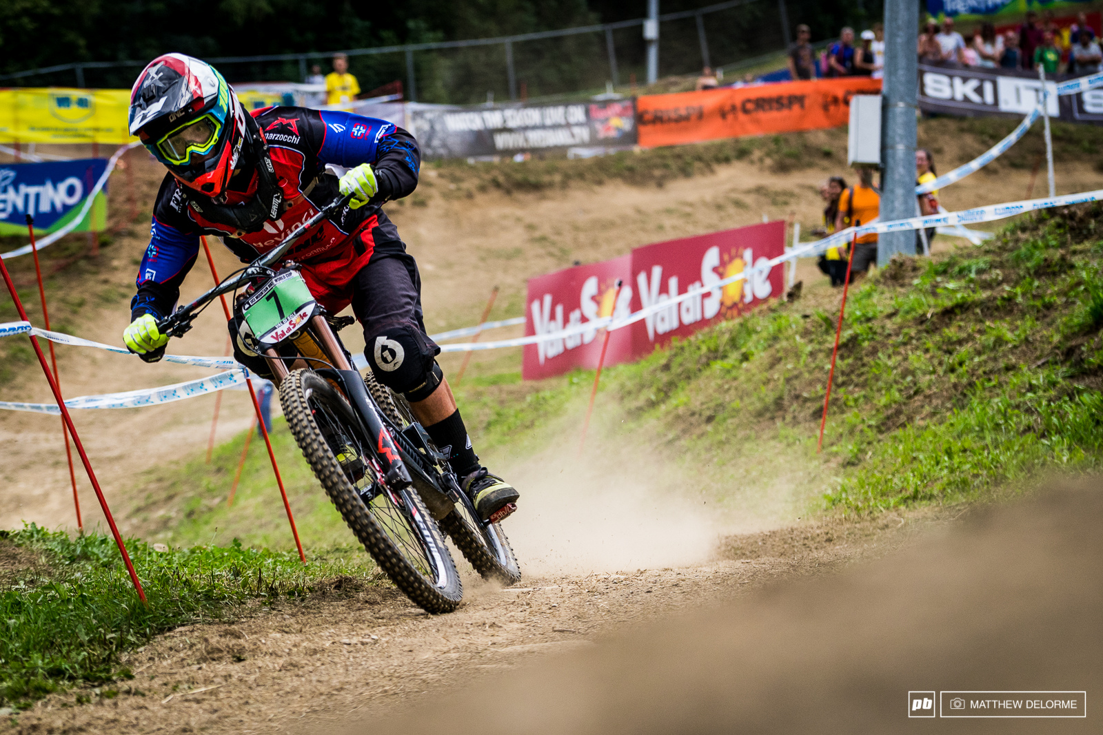 Loris Revelli brought home the win for his country in the juniors today. The Italian was a second and change up on second place Dickson.