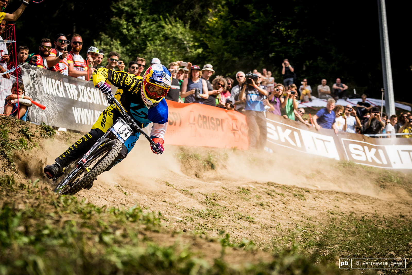 Loic Bruni took second today and second for the overall of the season. Unfortunately that win was still just out of his reach.