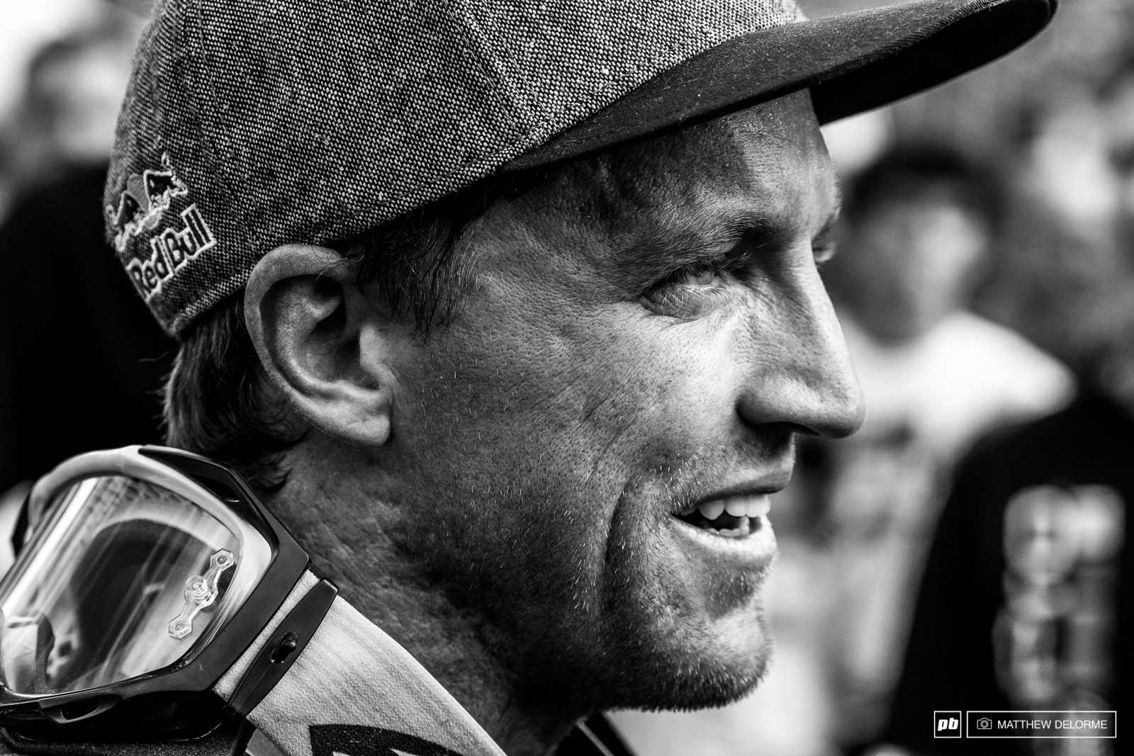 Aaron Gwin wrapped it all up in a tidy package here at Val di Sole. Now he looks toward the next item to check off his list World Champs.