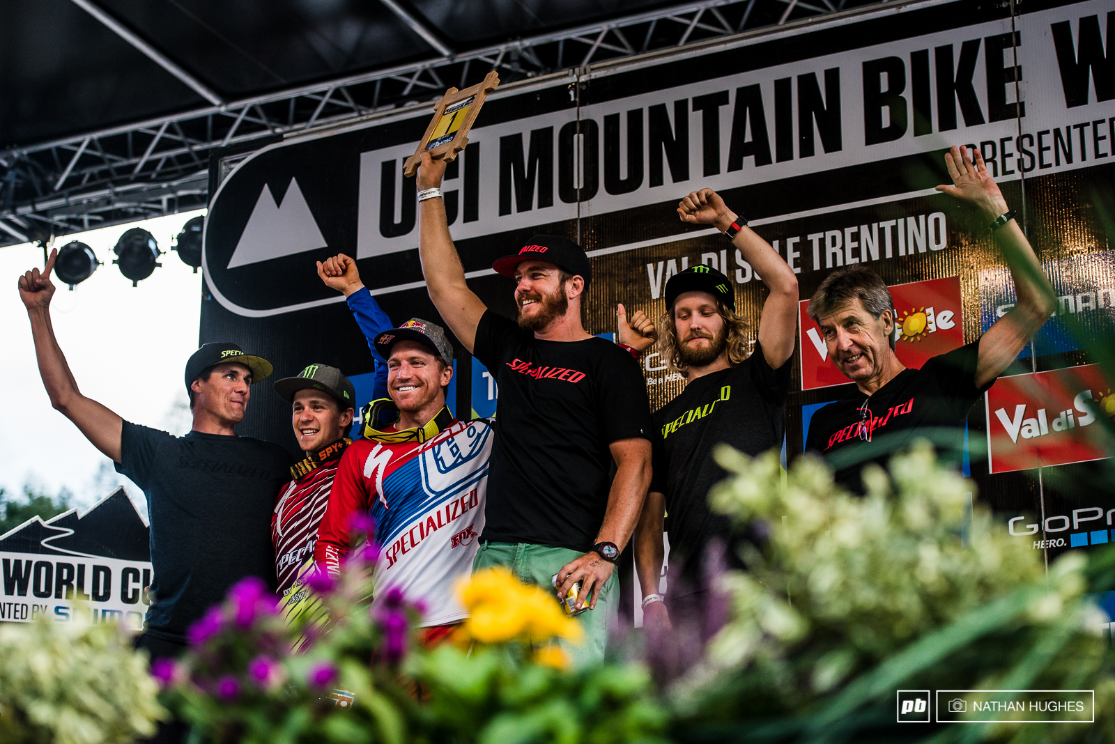 Having just two riders proved to be no handicap to the Specialized Racing team and they took the team battle title.
