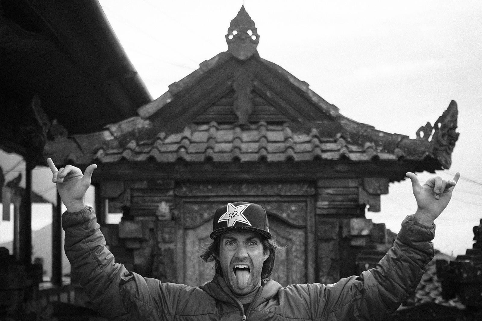 Cam McCaul in Bali Indonesia