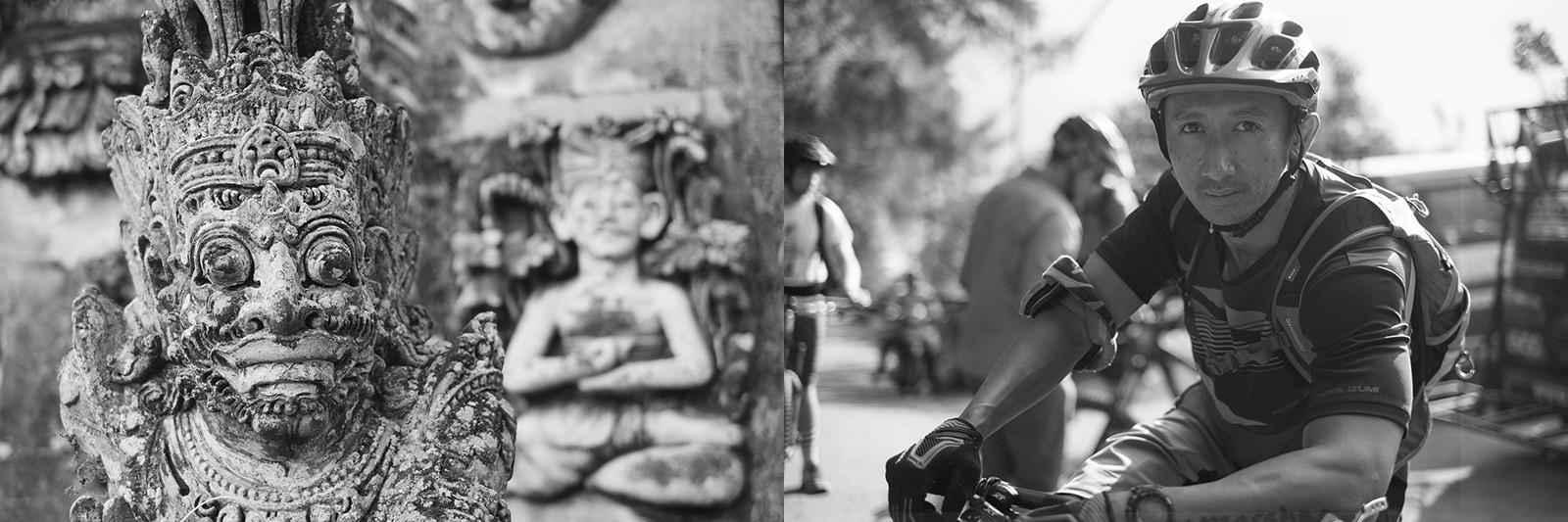 Rahmat Saefudin in Bali Indonesia
