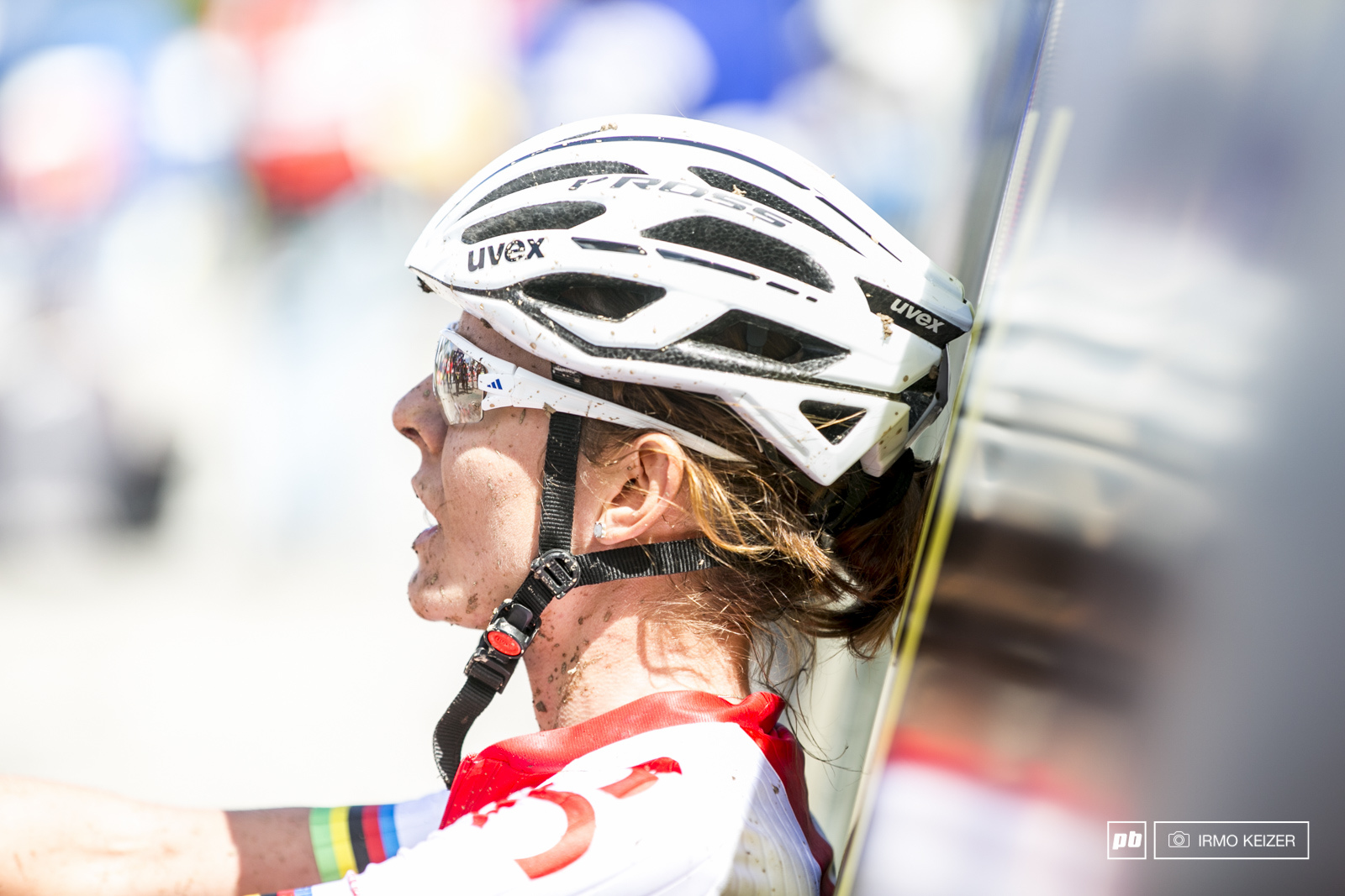 Maja fought hard and battled up front all race. She finished in 6th but watch this girl for next year.