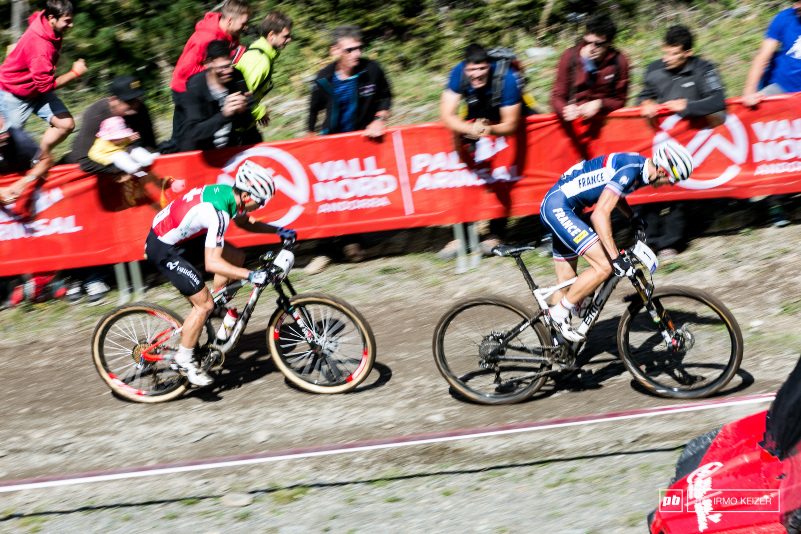 Once again Absalon and Schurter battled for top honours.