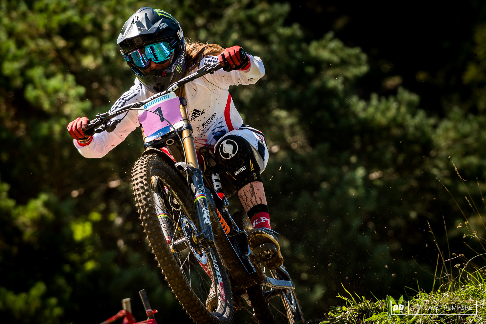 Defending World Champ Manon Carpenter fought hard but won t be leaving Andorra with the 1 plate.