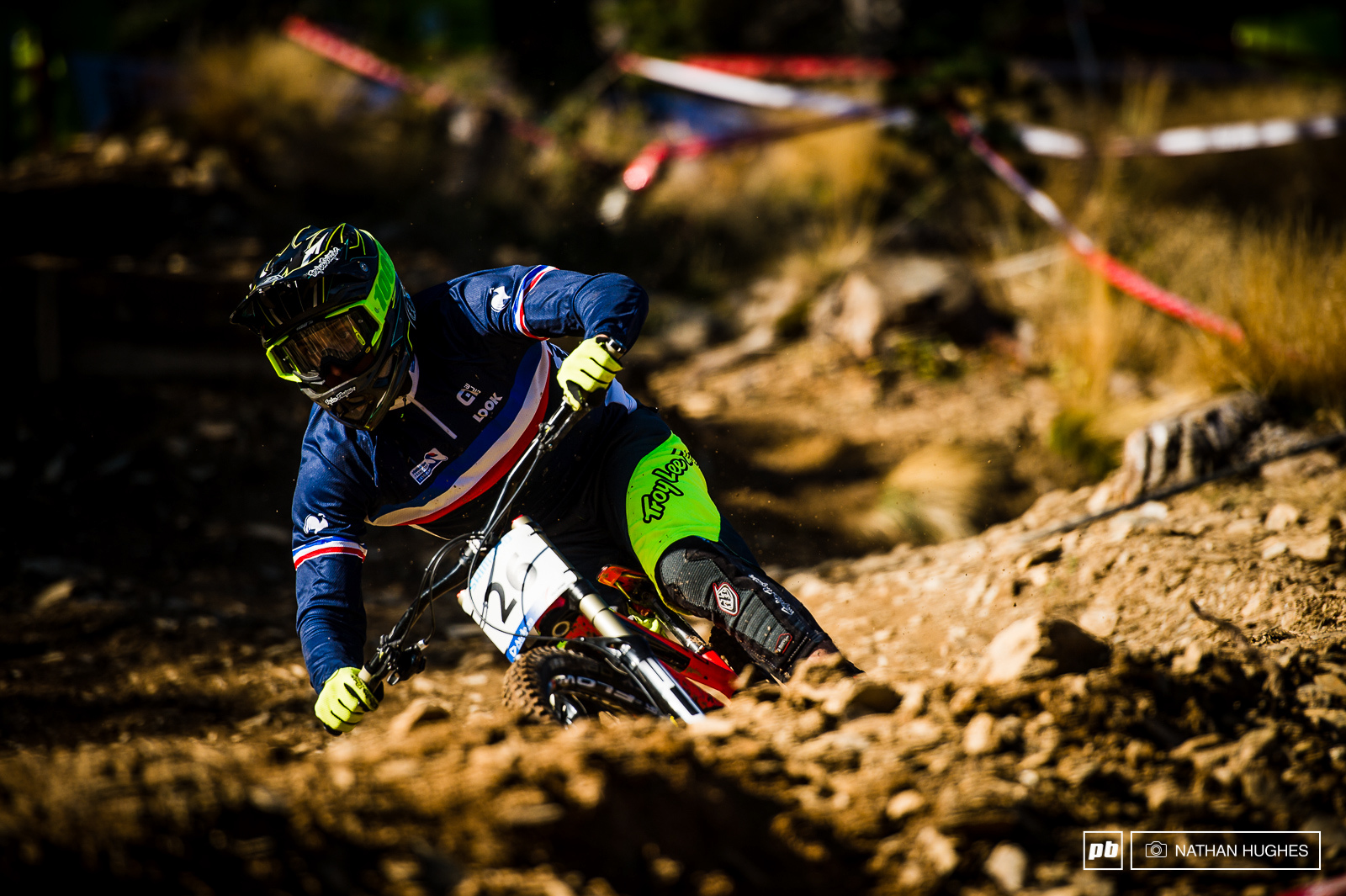 Amaury Pierrom continued to prove his top 20 status with another first class result on arguably the toughest track to round out the season.