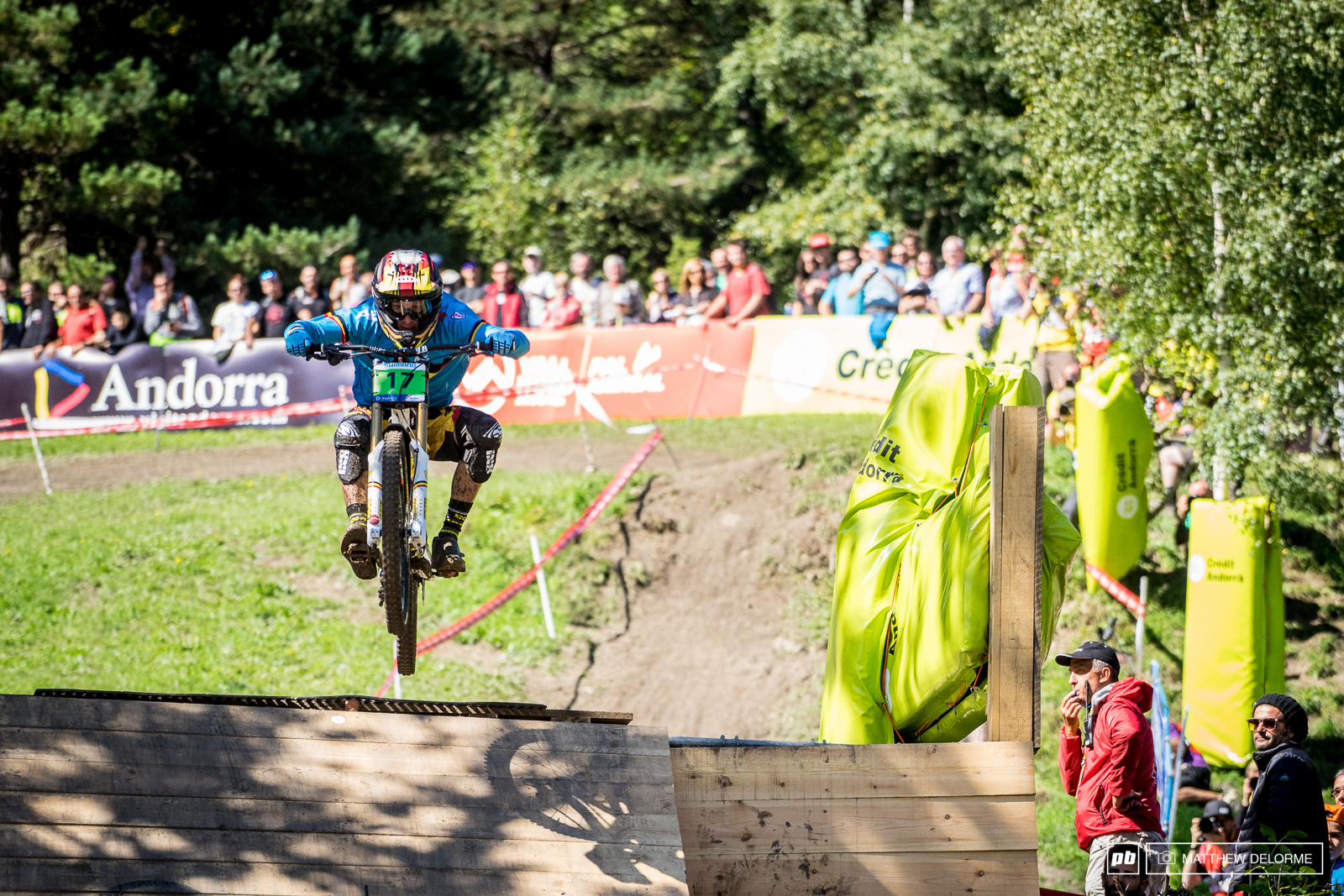 Martin Maes was clearly the big threat. He came threw six seconds up but it wasn t enough for the win. Maes finished second.