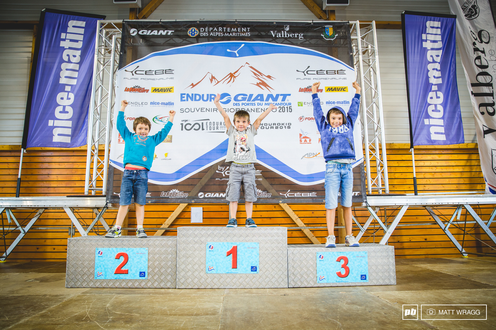 Given the track record of this part of the world the chances of one of these kids standing on a more serious podium in around a decade is very high.